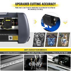 VEVOR 34 Vinyl Cutter Plotter 375mm Vinyl Cutting Machine with Vinyl Papers