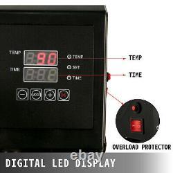 VEVOR 5 in1 Heat Press 15x15 Vinyl Cutter Plotter 34 USB Port Signmaster Art