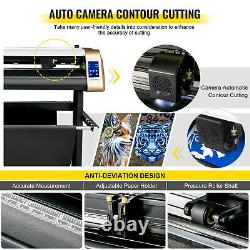 VEVOR Vinyl Cutter Machine Cutting Plotter 720mm Plotter Printer Vinyl Cutting
