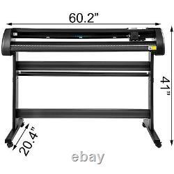VEVOR Vinyl Cutter Plotter 53 Sign Making Drawing Tools 1350MM Wide Format
