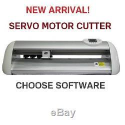 VINYL CUTTER PLOTTER BRAND NEW UKCUTTER 64Mb CACHE CT630S QUICK WITH SERVO MOTOR