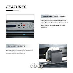 Vinyl 720mm Cutting Plotter Sign Cutters 28 Printer Sticker LCD Vinyl Cutter