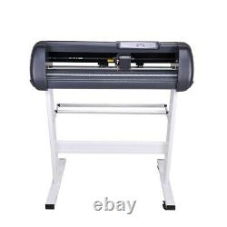 Vinyl Coutting Plotter 28in Sticker Cutting with Signmaster Software 3 Blades
