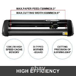 Vinyl Cutter Plotter 28 Sign Making Graphics Signmaster Backlight with 3 Blades