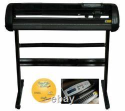 Vinyl Cutter Plotter Cutting 34 Sign Maker USB Port Decoration Advertisement
