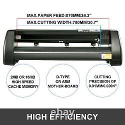 Vinyl Cutter Plotter Cutting 34 Sign Making Craft Cut Cut Device LCD Display
