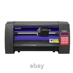 Vinyl Cutter Plotter Mini LED Lights 360mm Sticker Label / FlexiStarter Software