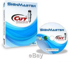 Vinyl Cutter Plotter Smurf HSF1600 Sectional SERVO Auto Contour Cut Decal Shirt
