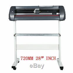 Vinyl Cutting Plotter 720MM Sign Cutter 28Maker Free Genuin SignMaster software