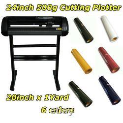 24 500g Plotter De Coupe Cutter De Vinyle Pour Machine De Coupe De Vinyle Pu Avec Du Vinyle Pu