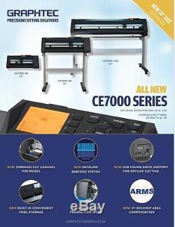 24 (60 Cm) Graphtec Ce7000-60 Vinyle Cutter / Traceur Garantie 2 Ans Livraison Gratuite