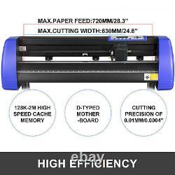 28 Machine De Cutter En Vinyle 720mm Avec Support De Cutter En Vinyle