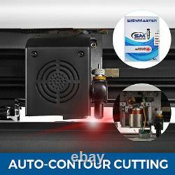 28 Vinyl Cutter Plotter Sign Cutting Laser Pointeur Automatique Contour Cut Print