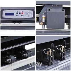 28 Vinyl Cutter Sticker Coupe 45w 2 X Pinch-rollers Avec Câble Usb 45w