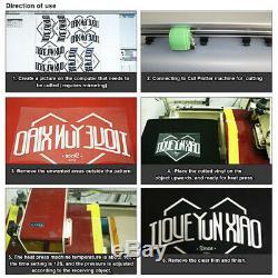 28 Vinyl Cutter Traceur Décalcomanies Kit Inscription Machine De Découpe + Design / Logiciel Cut