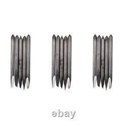 30x16pc 30/45/60 Degrés Mimaki Cricut Cutting Plotter Vinyl Cutter Blades+
