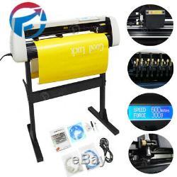 32 Vinyle Cutter Traceur Enseignes Machine De Découpe Autocollant Imprimer Graphique LCD