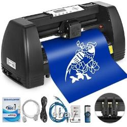 34 Inch Vinyl Cutter Plotter Machine Avec Signmaster Software 350mm Paper Feed