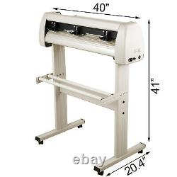 34 Vinyl Cutter Machine 870mm Avec Stand Vinyl Plotter Cutter Signmaster Cutting