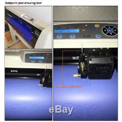 36 LCD Vinyle Cutter Enseignes Traceur Autocollant De Conception De Coupe Machine + Logiciel