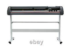 53 Pince De Coupe De Vinyle 1350mm Logiciel Sticker D'impression Numérique Usb Port