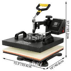 5in1 Heat Press 15x15 Cutter Vinyle Traceur 28 Logiciel Art Artisanat Cap Plate
