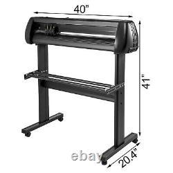 5in1heat Press 15x15vinyl Cutter Plotter 34 Graphics T-shirt Sublimation 110v