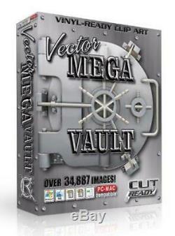 63 Jeux Énormes Mega Vecteur Des Clip Art Précoupés Sign Vinyle Cutter Traceur