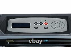 870mm Vinyl Cutting Plotter Fabricant 3blade Genuine Signmaster Software 34