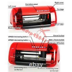 A4 Stickers Cutter Vinyl Cutter Plotter Cutting Machine Contour Cut Fonction Rouge