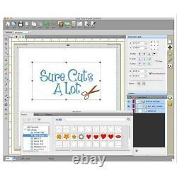 Abonnement À Vie Sure Cuts A Lot 5 Pro Vinyl Plotter Cutting Software