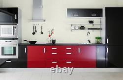Achetez 2 Obtenez 1 Gratuit! Gloss Kitchen Units Armoire Portes Dessine Auto Vinyle Adhésif