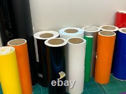 Assortiment De Panneau Adhésif Vinyl Rolls Job Lot Bundle, Car And Cutter Plotter