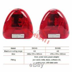 Autocollant Cutter A4 Vinyle Cutter Découpeuse Machine Contour Cut Fonction