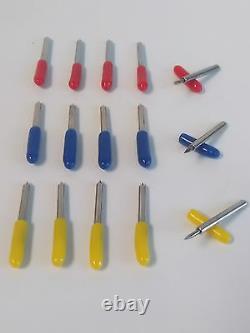 Blade Holder Roland Mimaki Vinyl Print Cutter Plotter Cutting Tool + 5 Lames