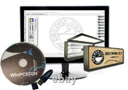 Brand New Cutting Enseignes Software Winpcsign Pro 2018 Vinyle Cutter Traceur