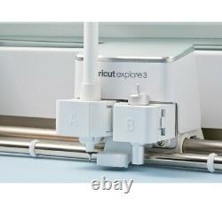 Cricut Explorez Air 3 Cutter Plotter En Vinyle, Compatible Avec Les Matériaux Intelligents Pas De T