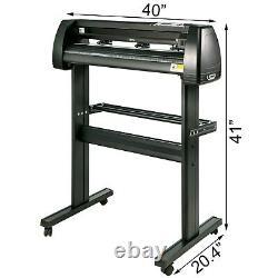 Cutter 34870mm Vinyl Plotter Sign Maker Backlight Print 3blades Fast Shipping