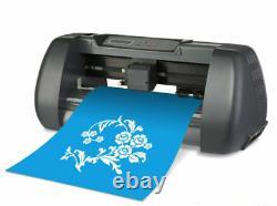 De Bureau Cutter De Vinyle Plotter Seiki Sk375t 14 (375mm)+ T-shirt D'artcut Craft