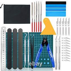 Ensemble D'outils D'artisanat De Bricolage De 39 Pec Gundam Model Tools Kit Spatule De Désherbage De Vinyle