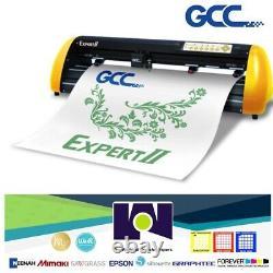 Gcc Expert 24 Htv & Vinyl Cutter Plotter + Stand Free Software + Livraison Gratuite