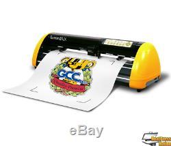 Gcc Expert II 24 LX Vinyle Cutter Traceur Contour Coupe