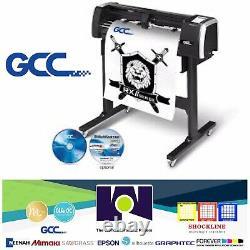Gcc Rx Ii-61 (61cm) Traceur De Coupe De Premier Ordre Sur Le Marché 24 Livraison Gratuite
