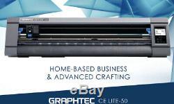 Graphtec Ce Lite-50 Cutter Vinyle 20 Plotter De Découpe Pour Craft Vinyle Et Htv