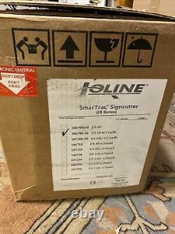 Ioline Model I/s60 Vinyl Sign Cutter / Plotter USA Made New Original Smartrac