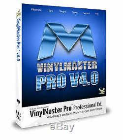 Logiciel Vinyle Cutter Pour Identifier Traceurs De Découpe Décalcomanies Svg Pdf Psn + Link No Discs