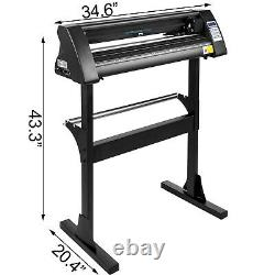 Machine De Cutter De Vinyle Machine De Cutter De Vinyle 720mm Machine De Cutter De Plotter De Vinyle Pour La Coupe