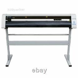 Machine De Découpe Rs-1360c + Stand + Logiciel 48sign Autocollant Vinyle Traceur Cutter Yw