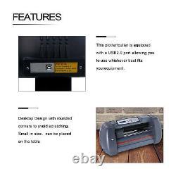 Nouveau 14vinyl Cutter Plotter Cutting Sign Maker Sticker Print Graphics Écran LCD