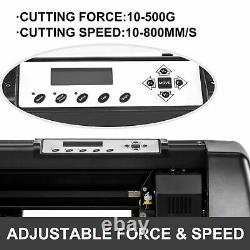 Plotter Machine 350mm Paper Feed Signmaster Software Sign Making Vinyl Cutter 14